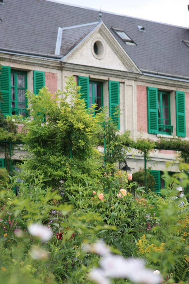 Monet's Wohnhaus, in dem er bis zu seinem Tode mit seiner Familie gelebt und gearbeitet hat.